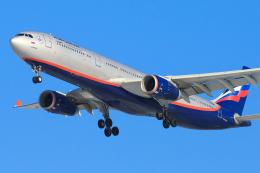 BOSTONさんが、ウラジオストク空港で撮影したアエロフロート・ロシア航空 A330-343Xの航空フォト(飛行機 写真・画像)