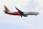 ★azusa★さんが、シンガポール・チャンギ国際空港で撮影したエア・インディア・エクスプレス 737-8HGの航空フォト(写真)