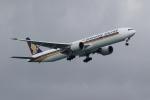 ★azusa★さんが、シンガポール・チャンギ国際空港で撮影したシンガポール航空 777-312/ERの航空フォト(写真)