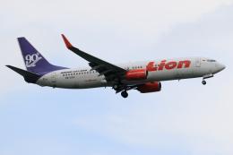 ★azusa★さんが、シンガポール・チャンギ国際空港で撮影したライオン・エア 737-8GPの航空フォト(写真)