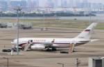 ハム太郎。さんが、羽田空港で撮影したロシア連邦保安庁 Il-96-300の航空フォト(写真)
