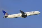とらとらさんが、羽田空港で撮影したユナイテッド航空 787-9の航空フォト(写真)
