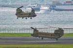Tomo-Papaさんが、羽田空港で撮影したアメリカ陸軍 CH-47Fの航空フォト(写真)