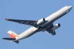 まえちんさんが、羽田空港で撮影したフィリピン航空 A330-343Xの航空フォト(写真)