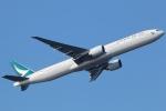 まえちんさんが、羽田空港で撮影したキャセイパシフィック航空 777-367/ERの航空フォト(写真)