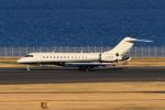 たまさんが、羽田空港で撮影したスカイサービス・ビジネス・アビエーション BD-700-1A10 Global Expressの航空フォト(写真)