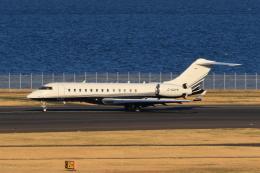 たまさんが、羽田空港で撮影したスカイサービス・ビジネス・アビエーション BD-700-1A10 Global Expressの航空フォト(飛行機 写真・画像)