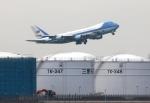 まえちんさんが、羽田空港で撮影したアメリカ空軍 VC-25A (747-2G4B)の航空フォト(写真)