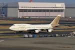 たまさんが、羽田空港で撮影したアトラス航空 747-481の航空フォト(写真)