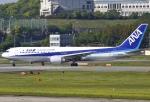 あしゅーさんが、福岡空港で撮影した全日空 767-381の航空フォト(飛行機 写真・画像)