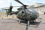 utarou on NRTさんが、霞ヶ浦飛行場で撮影した陸上自衛隊 OH-6Dの航空フォト(写真)