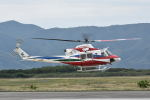ワイエスさんが、鹿屋航空基地で撮影した鹿児島県防災航空隊 412EPの航空フォト(飛行機 写真・画像)