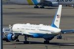 Snow manさんが、羽田空港で撮影したアメリカ空軍 757-2Q8の航空フォト(写真)