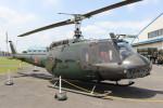 utarou on NRTさんが、霞ヶ浦飛行場で撮影した陸上自衛隊 UH-1Hの航空フォト(写真)