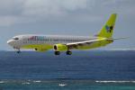 apphgさんが、那覇空港で撮影したジンエアー 737-86Nの航空フォト(写真)