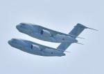じーく。さんが、米子空港で撮影した航空自衛隊 C-2の航空フォト(飛行機 写真・画像)