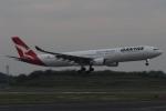 木人さんが、成田国際空港で撮影したカンタス航空 A330-303の航空フォト(写真)