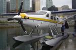 senyoさんが、バンクーバー・ハーバー・ウォーター空港で撮影したハーバー・エア・シープレーンズ DHC-3T Vazar Turbine Otterの航空フォト(写真)
