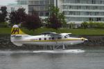 senyoさんが、ビクトリア・インナーハーバー空港で撮影したハーバー・エア・シープレーンズ DHC-3T Vazar Turbine Otterの航空フォト(写真)