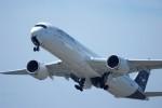 @あきやんさんが、関西国際空港で撮影したルフトハンザドイツ航空 A350-941XWBの航空フォト(写真)