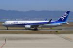 キイロイトリさんが、関西国際空港で撮影した全日空 767-381/ERの航空フォト(写真)