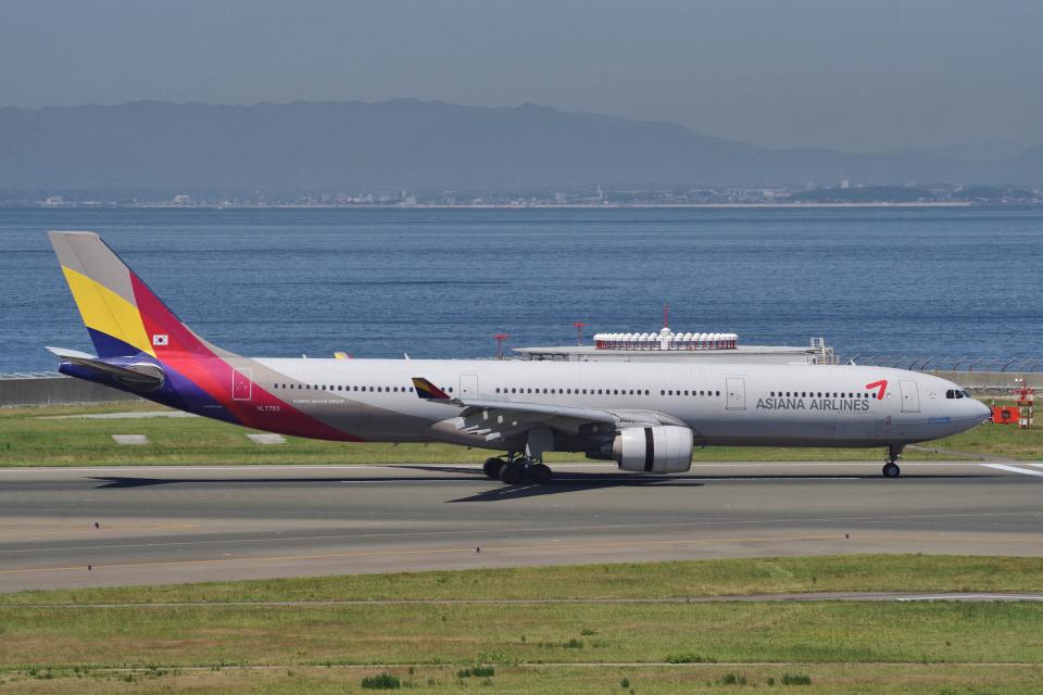 yabyanさんのアシアナ航空 Airbus A330-300 (HL7793) 航空フォト