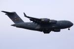 ちゅういちさんが、横田基地で撮影したアメリカ空軍 C-17A Globemaster IIIの航空フォト(写真)