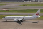 KAZFLYERさんが、羽田空港で撮影した日本トランスオーシャン航空 737-8Q3の航空フォト(飛行機 写真・画像)