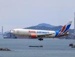 kikiさんが、香港国際空港で撮影したラヤ・エアウェイズ 767-223(SF)の航空フォト(写真)