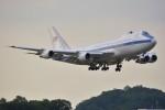 デルタおA330さんが、横田基地で撮影したアメリカ空軍 E-4B (747-200B)の航空フォト(写真)