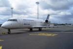 Hiro-hiroさんが、ベルリン・テーゲル空港で撮影したブリテール CL-600-2B19 Regional Jet CRJ-100ERの航空フォト(写真)