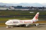 Hiro-hiroさんが、羽田空港で撮影したJALウェイズ 747-346の航空フォト(写真)