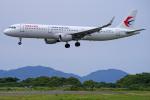 apphgさんが、静岡空港で撮影した中国東方航空 A321-211の航空フォト(写真)
