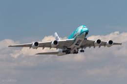うみBOSEさんが、新千歳空港で撮影した全日空 A380-841の航空フォト(写真)