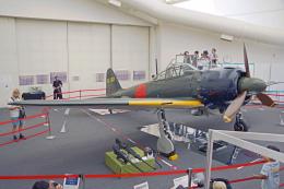 ちゃぽんさんが、所沢航空発祥記念館 で撮影した日本海軍 Zero A6Mの航空フォト(飛行機 写真・画像)