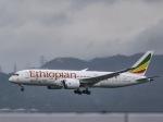 kikiさんが、香港国際空港で撮影したエチオピア航空 787-8 Dreamlinerの航空フォト(写真)