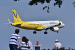パンダさんが、成田国際空港で撮影したバニラエア A320-214の航空フォト(写真)