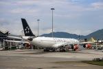 kikiさんが、香港国際空港で撮影したスカンジナビア航空 A340-313Xの航空フォト(写真)