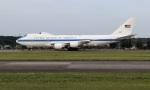 ハム太郎。さんが、横田基地で撮影したアメリカ空軍 E-4B (747-200B)の航空フォト(写真)