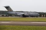 ハム太郎。さんが、横田基地で撮影したアメリカ空軍 C-17A Globemaster IIIの航空フォト(写真)