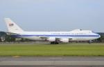 うとPさんが、横田基地で撮影したアメリカ空軍 E-4B (747-200B)の航空フォト(写真)