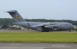うとPさんが、横田基地で撮影したアメリカ空軍 C-17A Globemaster IIIの航空フォト(写真)