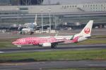 meijeanさんが、羽田空港で撮影した日本トランスオーシャン航空 737-8Q3の航空フォト(写真)