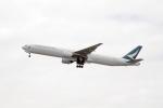 eagletさんが、羽田空港で撮影したキャセイパシフィック航空 777-31Hの航空フォト(写真)