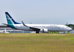 じーく。さんが、広島空港で撮影したシルクエア 737-8SAの航空フォト(写真)