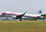 じーく。さんが、広島空港で撮影した中国東方航空 A319-115の航空フォト(飛行機 写真・画像)