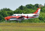 じーく。さんが、広島空港で撮影した海上自衛隊 TC-90 King Air (C90)の航空フォト(飛行機 写真・画像)