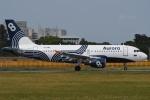 tassさんが、成田国際空港で撮影したオーロラ A319-112の航空フォト(写真)