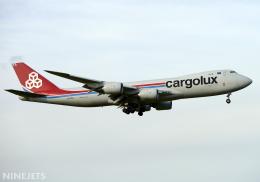 NINEJETSさんが、成田国際空港で撮影したカーゴルクス 747-8R7F/SCDの航空フォト(飛行機 写真・画像)