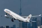 みぐさんが、羽田空港で撮影したアル・マスリア・ユニバーサル航空 A330-203の航空フォト(写真)